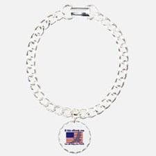 Flag Eagle Patriot Bracelet