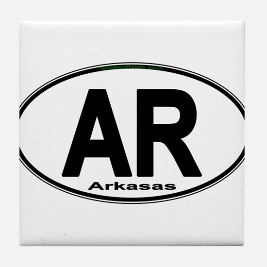Unique Arkansas Tile Coaster