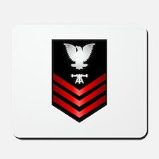 Navy Fire Control Technician First Class Mousepad