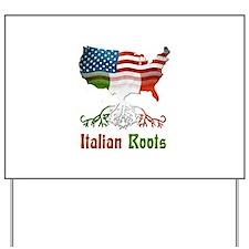 American Italian Roots Yard Sign