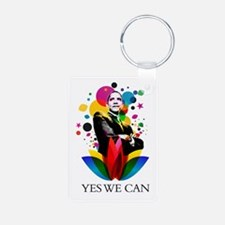 Obama - Yes we can Keychains