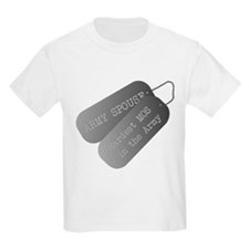 Army Spouse Hardest MOS in the Army T-Shirt