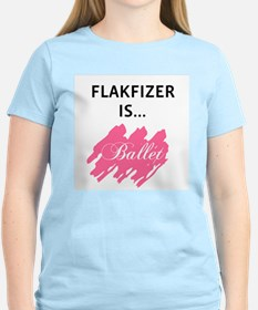 Flakfizer Is...Ballet Pink Tee
