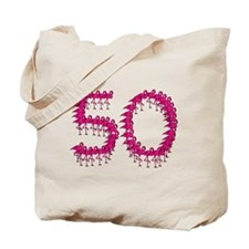 Flamingo Fifty Festive Fun for the Big 5-0! Tote B