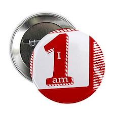 """I am 1! 2.25"""" Button"""