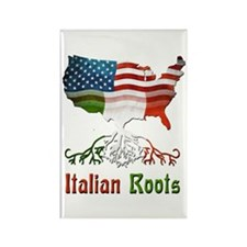 American Italian Roots Rectangle Magnet (10 pack)