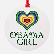 Obama Girl Ornament