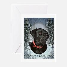 Black Lab Christmas Cards (Pk of 10)