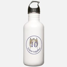 Celebrate 10 Years Together! Water Bottle