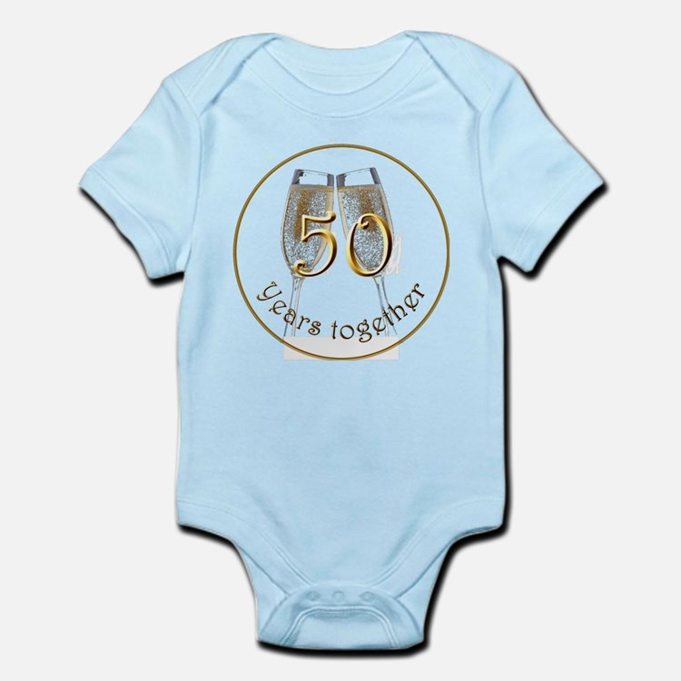 50 Years Together Infant Bodysuit