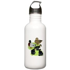 Gray Call Family Water Bottle