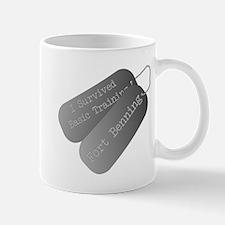 I survived basic training fort Benning Mug