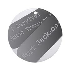 I survived basic training at Fort Jackson Ornament