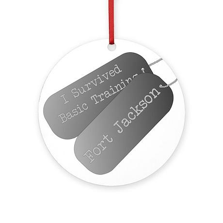 I survived basic training at Fort Jackson Ornament