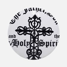 The Father, Son & Holy Spirit Ornament (Round)