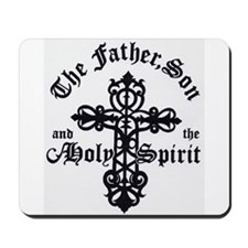 The Father, Son & Holy Spirit Mousepad