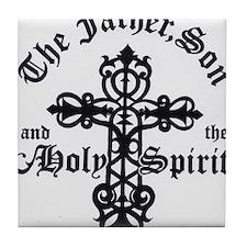 The Father, Son & Holy Spirit Tile Coaster
