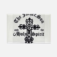 The Father, Son & Holy Spirit Rectangle Magnet