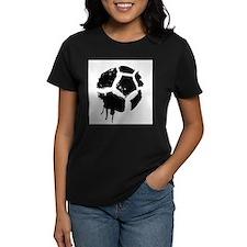rugged soccerball Tee