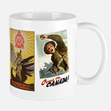 Canadian War Posters - Large Mugs