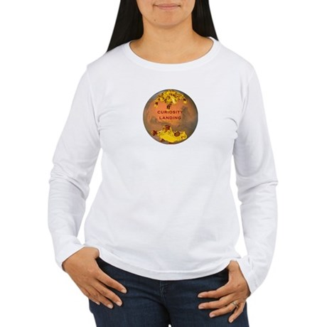 Curiosity Landing Women's Long Sleeve T-Shirt