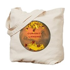 Curiosity Landing Tote Bag