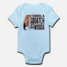 Squatch in These Woods Infant Bodysuit