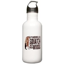 Squatch in These Woods Water Bottle
