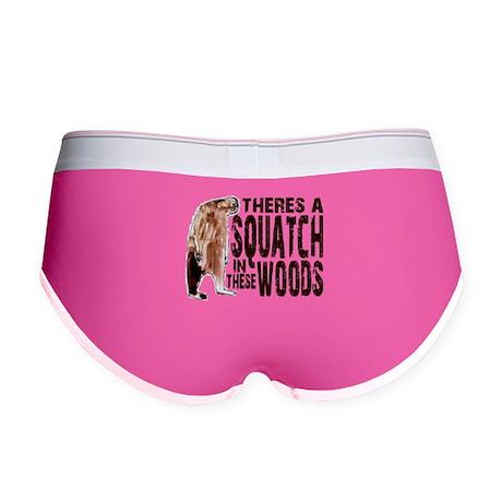 Squatch in These Woods Women's Boy Brief
