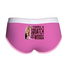 Squatch in These Woods Women's Boy Brief