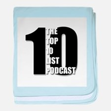 Top 10 List Podcast baby blanket