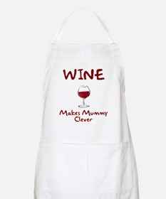 Wine Makes Mummy Clever Apron