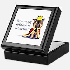 Yorkie King Keepsake Box