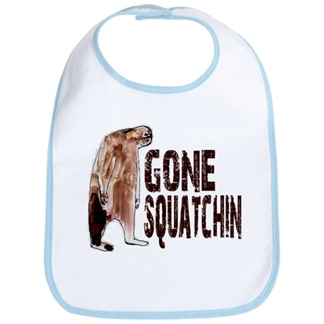 Authentic Bobo GONE SQUATCHIN Bib