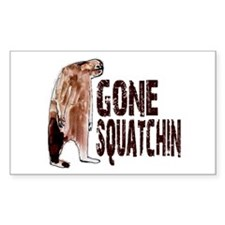 Authentic Bobo GONE SQUATCHIN Decal