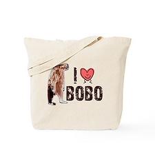 I Love Heart <3 Bobo Tote Bag