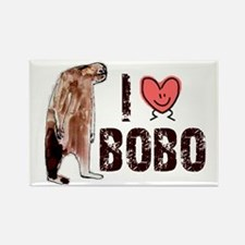 I Love Heart <3 Bobo Rectangle Magnet (10 pack)