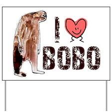 I Love Heart <3 Bobo Yard Sign