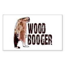 Woodbooger Sasquatch Decal