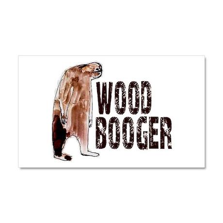Woodbooger Sasquatch Car Magnet 20 x 12