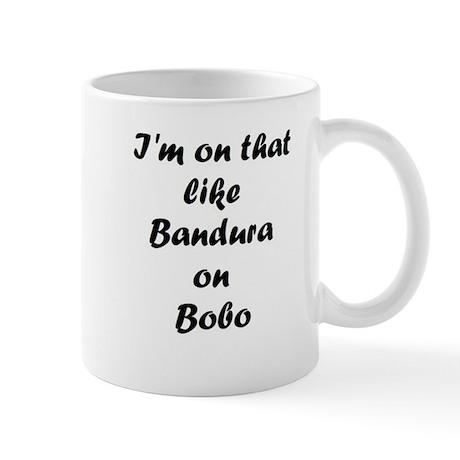 Bandura on Bobo Mug