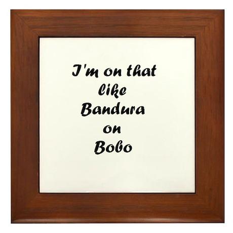 Bandura on Bobo Framed Tile