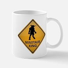 Minotaur Crossing Sign Mug