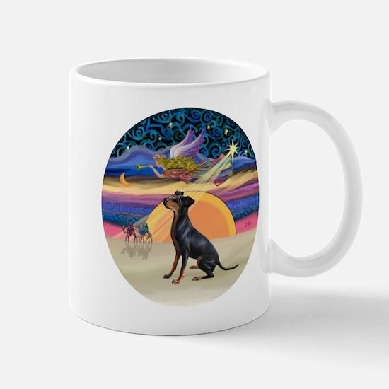 XmasAngel-Manchester Terrier Mug