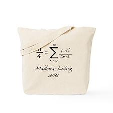 Madhava-Leibniz Series Tote Bag