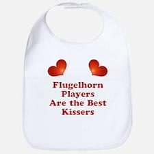 Flugelhorn players are the best kissers Bib