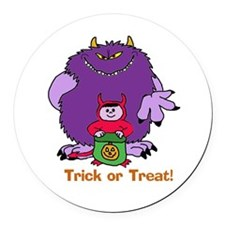Trickortreat2.psd Round Car Magnet