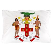 Jamaica Coat Of Arms Pillow Case