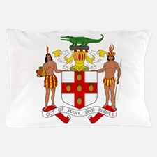 Jamaica Coat Of Arms Pillow Case