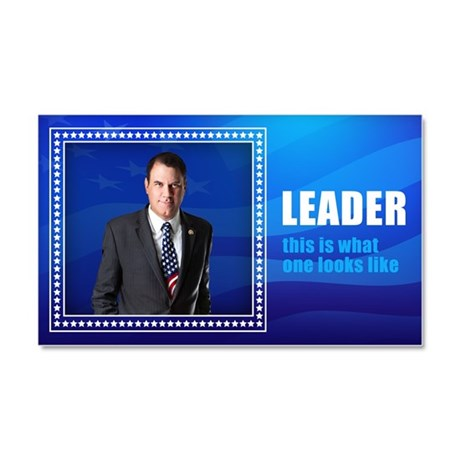 Leader: Alan Grayson Car Magnet 20 x 12